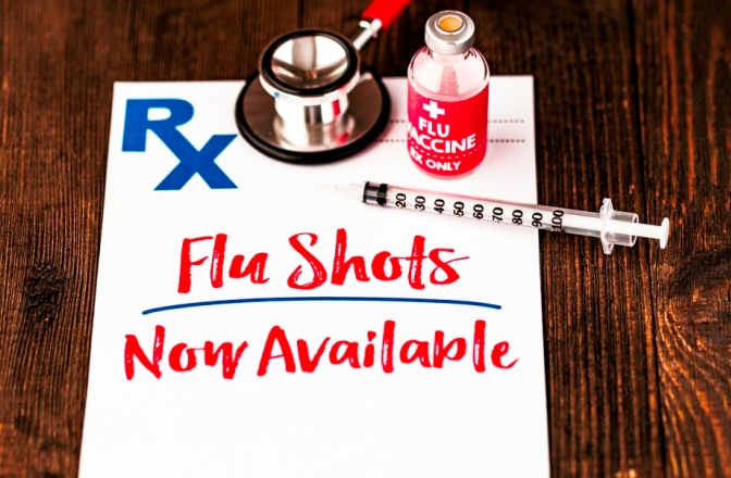 Now is the time to get your flu vaccine