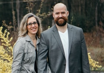 Keira Proctor, PA with Husband Chris
