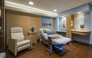 The Family Place Patient Room