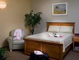 Sleep Center Patient Room