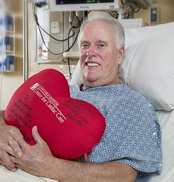 CABG and AVR Patient Jim Mackinaw